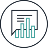 analysis consulting icon