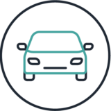 ground transportation icon